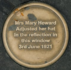 Photo of Mary Howard bronze plaque