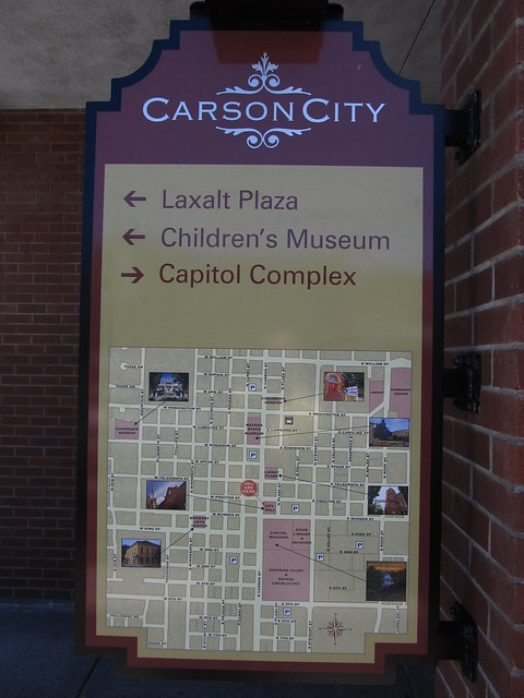Map of Downtown Carson City, Nevada  Carson City, officiall…  Flickr  Photo Sharing!