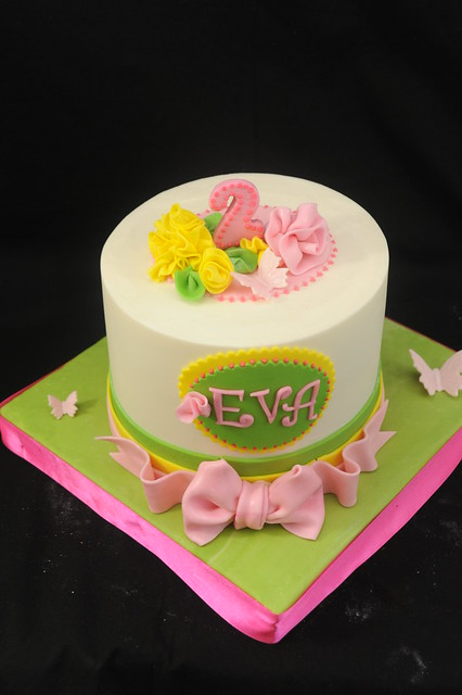 Girly Birthday Cake Images : Girly Birthday Cake The request was for something girly ...