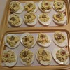 Deviled Eggs with Green Olives