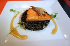 Glazed Salmon, Quinoa Salad