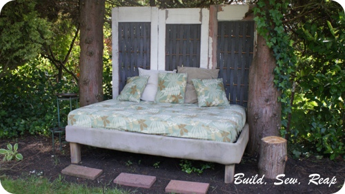 Backyard Bed by buildsewreap2