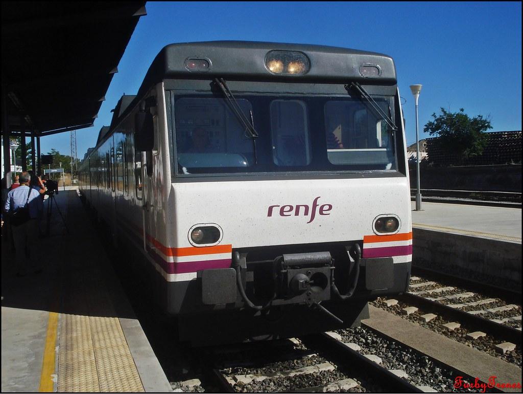 Línea Zafra-Jerez de los Caballeros 8843774289_71bebf45e2_b