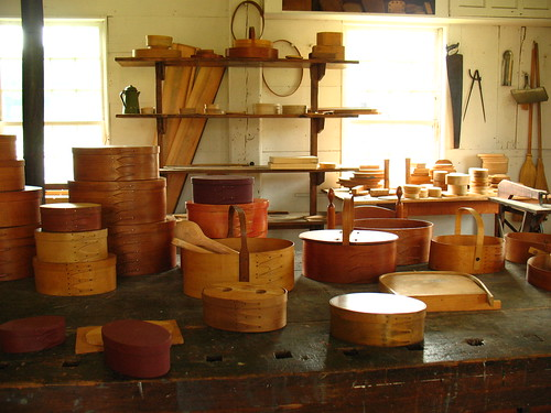 wooden box workshop