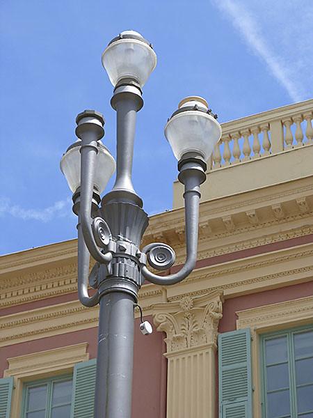lampadaire à Nice