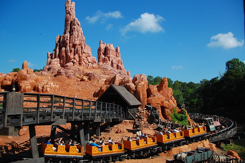 Thunder Mountain Magic Kingdom