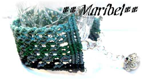 Pulsera Macrame by HADA-Maribel