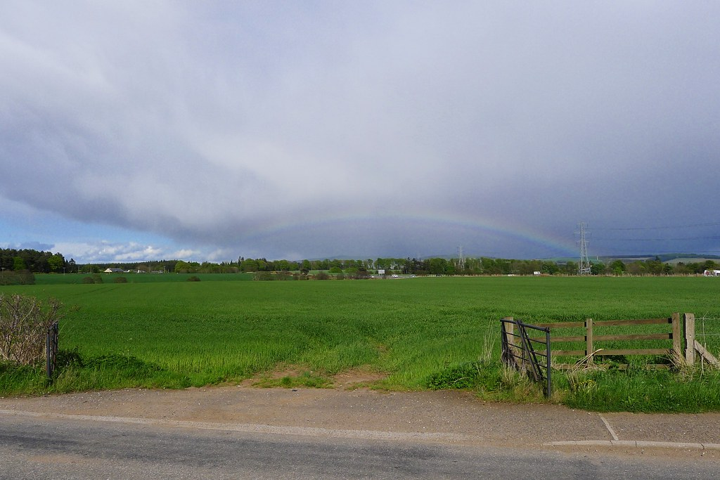 Rainbow over the Mearns
