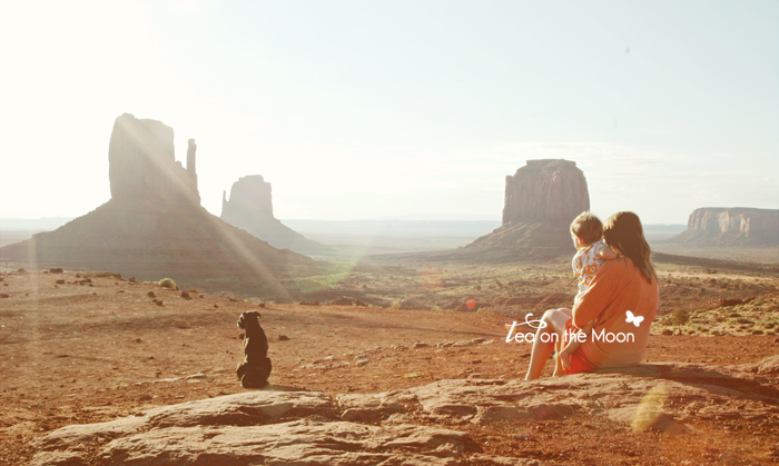 Monument Valley sunshine baby