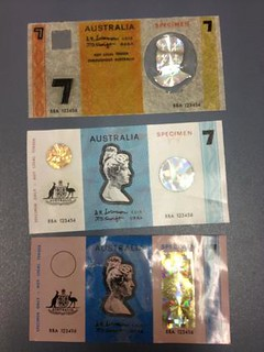 Scented Australian notes