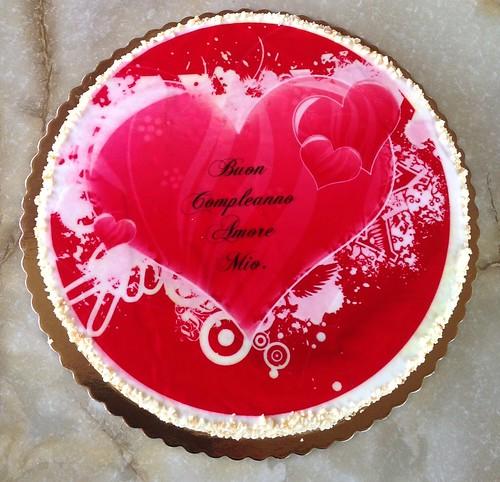 Buon Compleanno Amore Mio Pasticceria Le Strane Delizie A Flickr