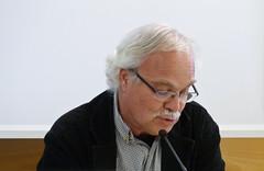 """Crèdit foto: Marcelo Aurelio. Frances Parcerisas, autor de """"La primaver a Pequín. Un dietari"""", guanyador del Premi Llibreter de Literatura Catalana."""