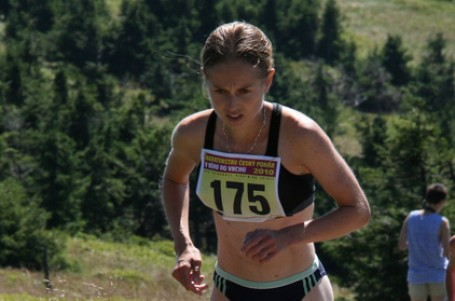 Schorná vystoupala třetí na švýcarský Le Moleson
