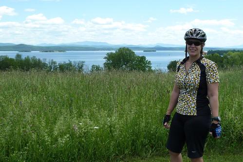 usa bike june sarah spring vermont 2013 champlainislands