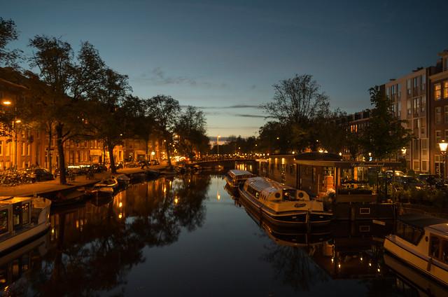 アムステルダム 運河
