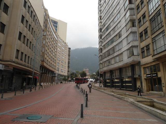 transmilenio Bus Lane