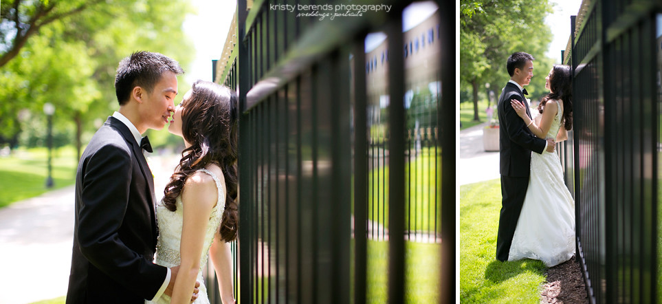 Grand Rapids Downtown Wedding Photography