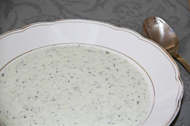Summer Cucumber Soup I Style By Charlotte - A Berlin Life & Style Blog