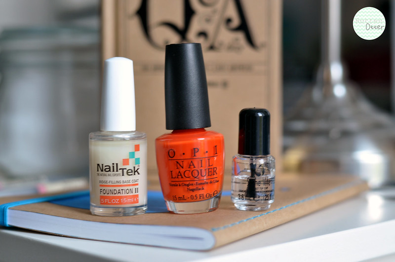NOTD OPI A Roll In The Hague nail polish bright orange neon creme rottenotter rotten otter blog 4