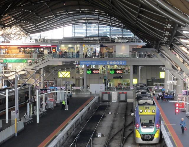 Southern Cross Station, July 2013
