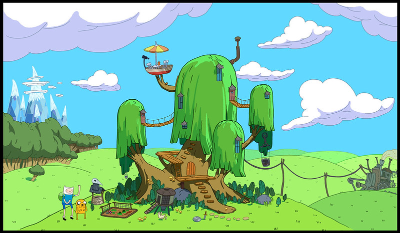 adventure_time___treehouse_by_abrsdk-d46tkk0