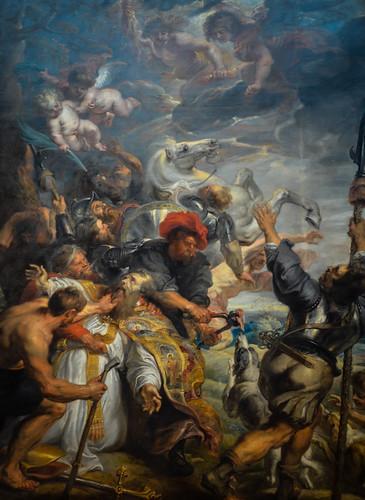 Peter Paul Rubens - Le Marityre die Saint Lievin, 1812 at Royal Museums of Fine Arts of Belgium - Brussels