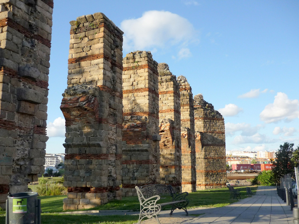 Majestuosas ruinas romanas en Mérida. Autor, Xornalcerto