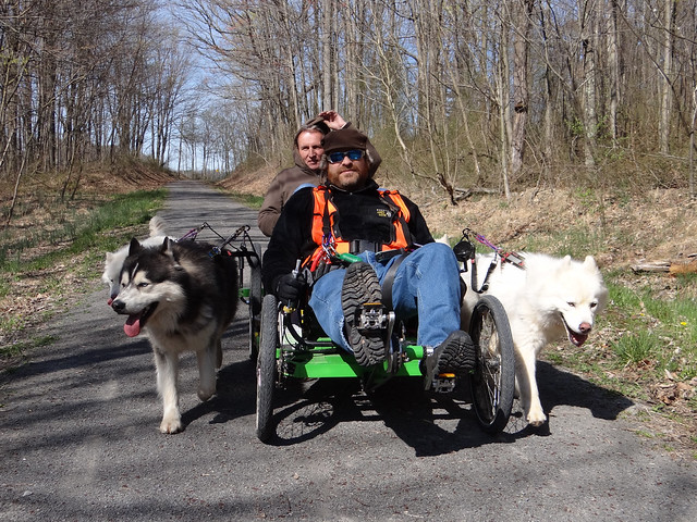 WooFDriver On Tour - Deckers Creek Trail, Morgantown West VA 03.27.2012