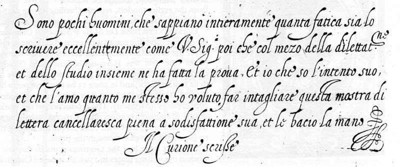 Late 16Th Century Chancery Cursive