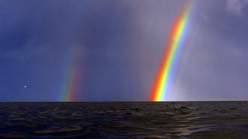 Rainbows at Pollnadivva Pier