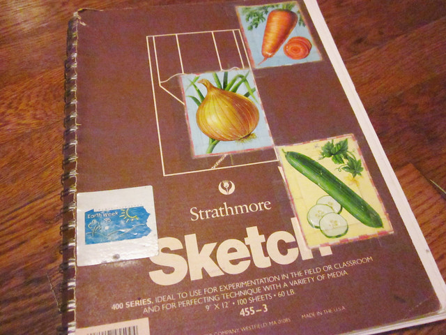 Sketchbook from 1995 0001