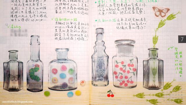 HOBO七月手帳
