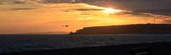 Sunset over Newhaven
