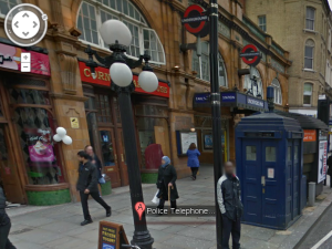 Explore The DOCTOR WHO Tardis Through Google Maps on