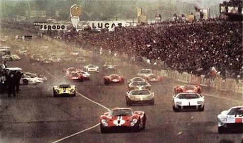 50ème anniversaire des 24 heures du Mans (Illustration)
