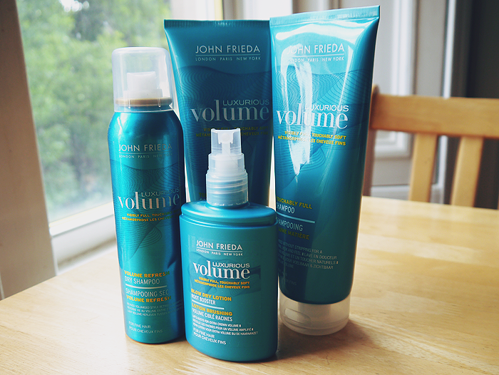 john frieda luxurious volume hair care range review 1