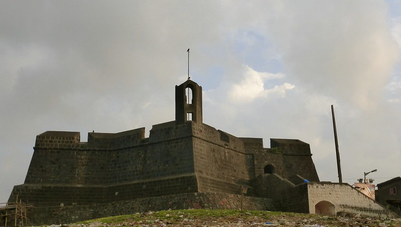 Worli Fort - reconstructed structure