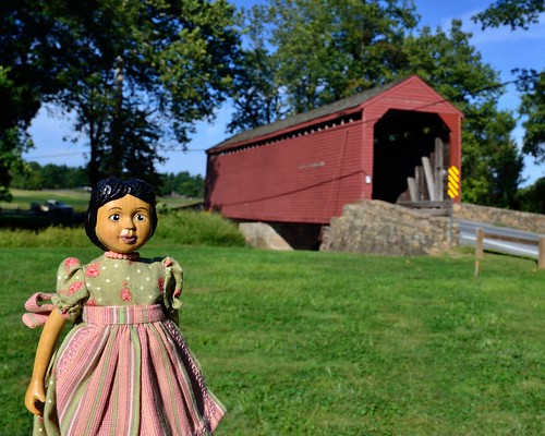 Hitty Rachel at Loy's Station Covered Bridge