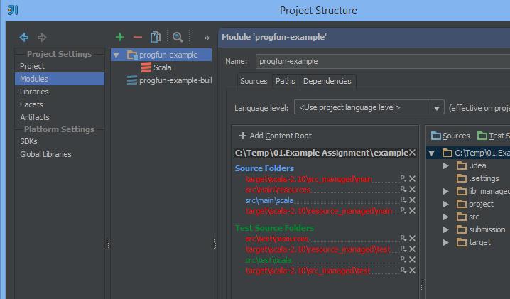 Functional Programming Principles in Scala using JetBrains