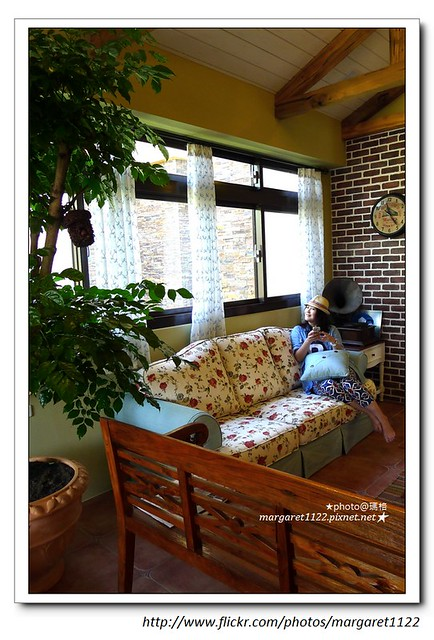 【宜蘭旅宿】羅東。夏米去散步~柿子色的鄉村城堡