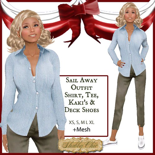 Shabby Chic Sail Away Outfit by Shabby Chics