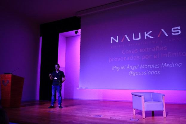 Mi charla en Naukas Bilbao 2013 y mis impresiones sobre el evento