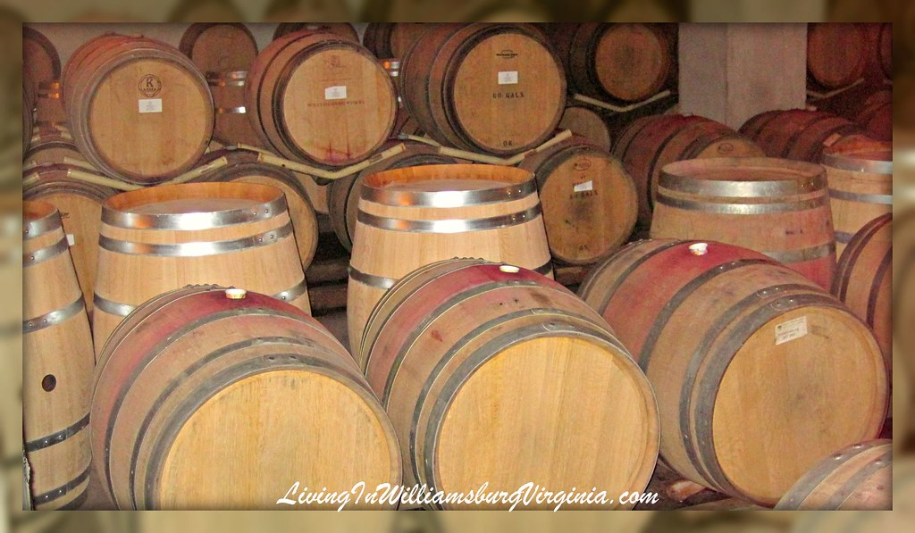 Williamsburg Winery Barrels