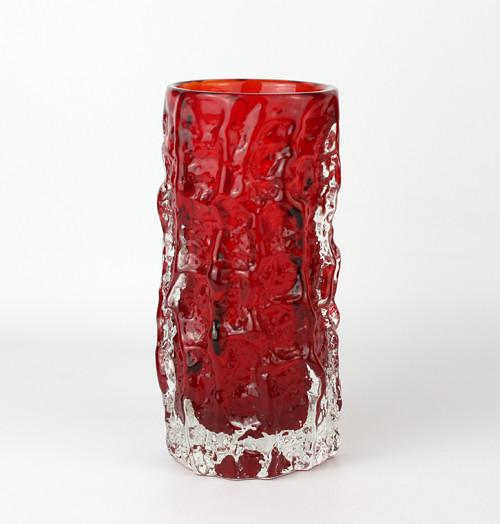 Whitefriars Bark Vase by Geoffrey Baxter