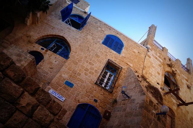 Walking around the old port city of Jaffa.