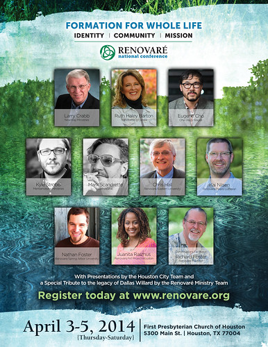 Renovaré National Conference in Houston, Texas