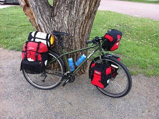 Caroline's bike