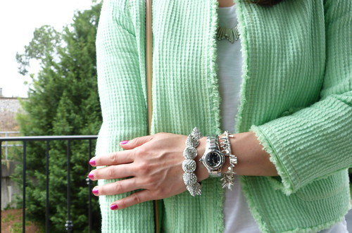 mint tweed