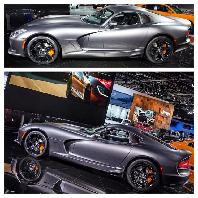 Found a few of my photos in polish #forbes:) #tearsheets #naias #cars #viper #detroit