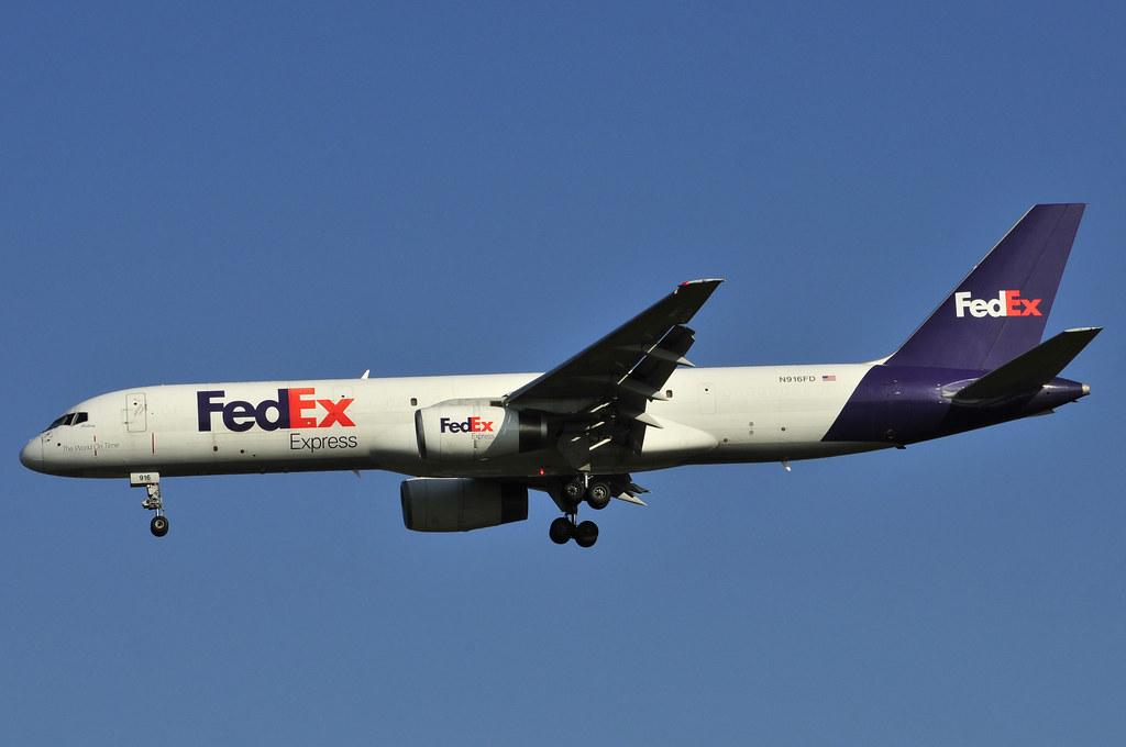 N916FD - B752 - FedEx